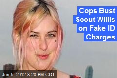 Cops Bust Scout Willis on Fake ID Charges