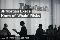 JPMorgan Execs Knew of 'Whale' Risks