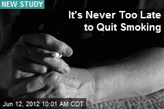 It's Never Too Late to Quit Smoking