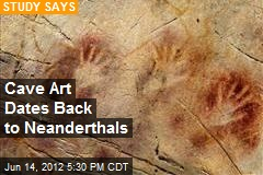 Cave Art Dates Back to Neanderthals