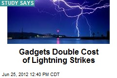 Gadgets Double Cost of Lightning Strikes