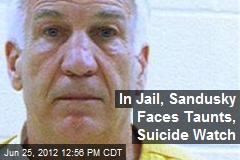 In Jail, Sandusky Faces Taunts, Suicide Watch