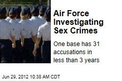Air Force Investigating Sex Crimes