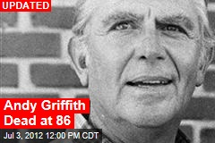 Andy Griffith Dead at 86: Friend