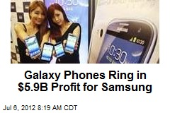 Galaxy Phones Ring in $5.9B Profit for Samsung