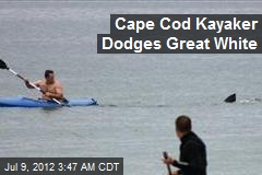 Cape Cod Kayaker Dodges Great White