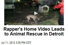 Rapper's Home Video Leads to Animal Rescue in Detroit