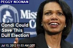 Condi Could Save This Dull Election