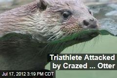 Triathlete Attacked by Crazed ... Otter