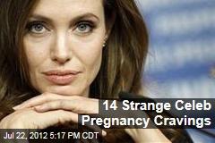 14 Strange Celeb Pregnancy Cravings