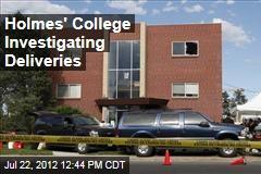 Holmes' College Investigating Deliveries