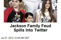 Jackson Family Feud Spills Into Twitter