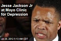 Jesse Jackson Jr at Mayo Clinic for Depression