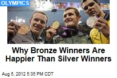 Why Bronze Winners Are Happier Than Silver Winners