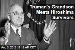 Truman's Grandson Meets Hiroshima Survivors