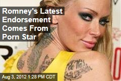 Romney's Latest Endorsement Comes From Porn Star
