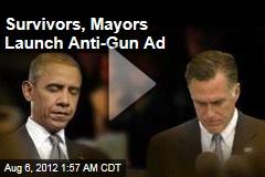 Survivors, Mayors Launch Anti-Gun Ad