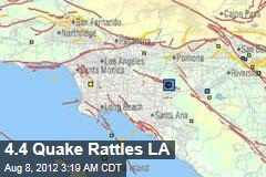 4.4 Quake Rattles LA