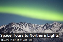 Space Tours to Northern Lights