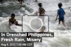 In Drenched Philippines, Fresh Rain, Misery