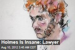 Holmes Is Insane: Lawyer