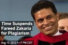 Time Suspends Fareed Zakaria for Plagiarism