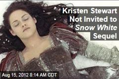 Kristen Stewart Not Invited to Snow White Sequel