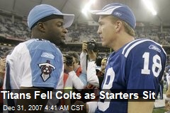 Titans Fell Colts as Starters Sit