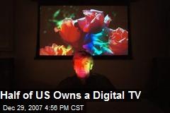 Half of US Owns a Digital TV