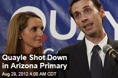 Quayle Shot Down in Arizona Primary