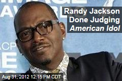 Randy Jackson Done Judging American Idol
