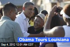 Obama Tours Louisiana