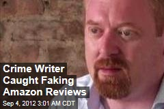 Crime Writer Caught Faking Amazon Reviews