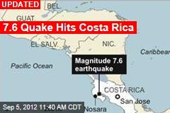 7.9 Quake Hits Costa Rica