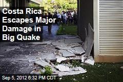 Costa Rica Escapes Major Damage in Big Quake