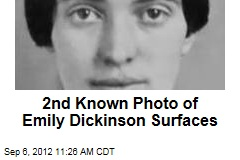 2nd Known Photo of Emily Dickinson Surfaces