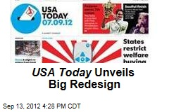 USA Today Unveils Big Redesign