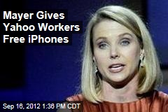 Marissa Mayer Gives Yahoo Workers Free Smartphones