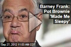 Barney Frank: Pot Brownie 'Made Me Sleepy'
