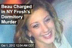 Beau Charged in NY Frosh's Dormitory Murder