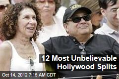 12 Most Unbelievable Hollywood Splits