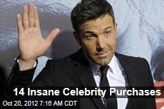 14 Insane Celebrity Purchases