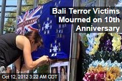 Bali Victims Mourned on 10th Anniversary