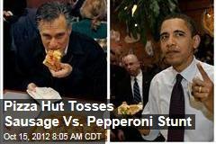 Pizza Hut Tosses Sausage Vs. Pepperoni Stunt