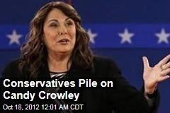 Conservatives Pile on Candy Crowley