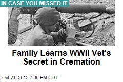 Family Learns WWII Vet's Secret in Cremation