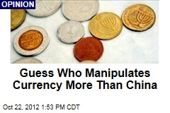 Guess Who Manipulates Currency More Than China