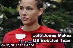 Lolo Jones Makes US Bobsled Team