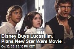 Disney Buys Lucasfilm, Plans New Star Wars Movie
