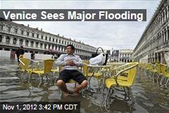 Venice Sees Major Flooding